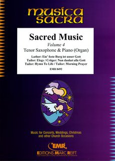 Sacred Music Volume 4  (Tenor Saxophone)