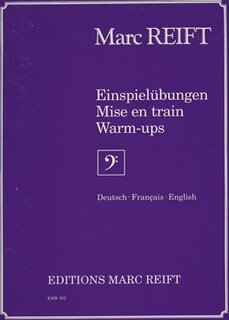 Einspielübung/Mise en train/Warm-up (BC) (Posaune)