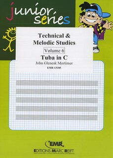 Technical & Melodic Studies Vol. 6 (Tuba)
