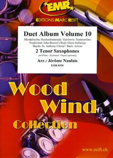 Duet Album Volume 10  (2 Tenor Saxophones)
