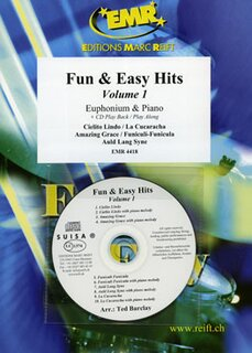 Fun & Easy Hits Volume 1  (Eufonium)