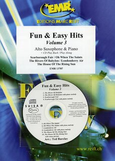 Fun & Easy Hits Volume 3  (Alto Saxophone)