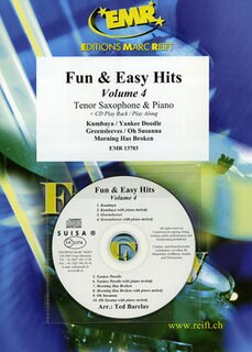 Fun & Easy Hits Volume 4 (Tenor Saxophone)
