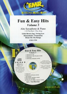 Fun & Easy Hits Volume 5 (Alto Saxophone)