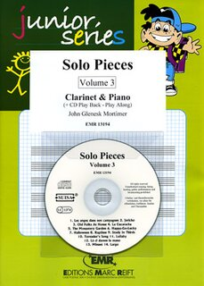 Solo Pieces Vol. 3 (Klarinette)