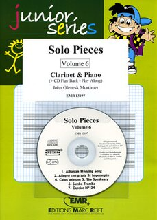 Solo Pieces Vol. 6 (Klarinette)
