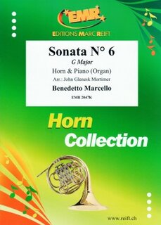 Sonata N° 6 in G major (Horn in Es)