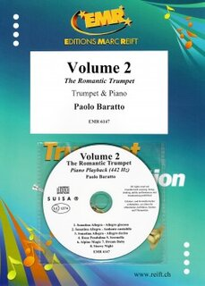 Volume 2, The Romantic Trumpet (Kornett)