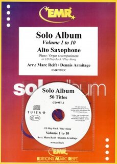 10 Solo Album (Vol. 1-10 + 2 CDs) (Alto Saxophone)