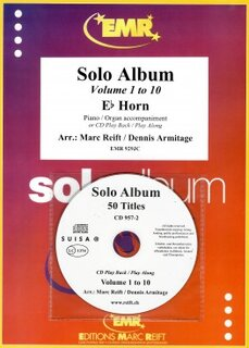10 Solo Album (Vol. 1-10 + 2 CDs) (Horn in Es)