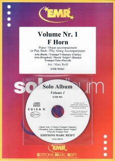 Solo Album Vol. 01 + CD  (Horn in F)