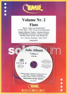 Solo Album Vol. 02 + CD  (Flöte)