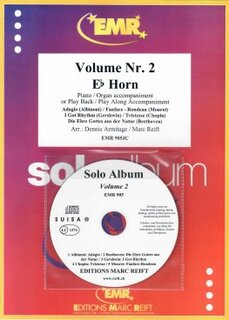 Solo Album Vol. 02 + CD  (Horn in Es)