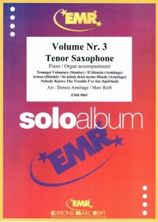 Solo Album Vol. 03  (Tenor Saxophone)