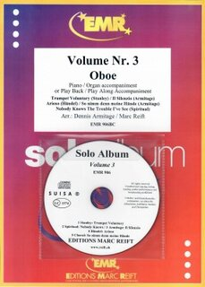 Solo Album Vol. 03 + CD  (Oboe)
