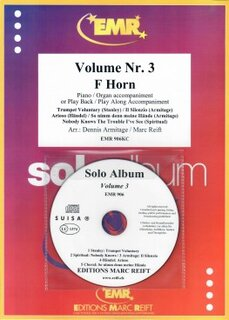 Solo Album Vol. 03 + CD  (Horn in F)