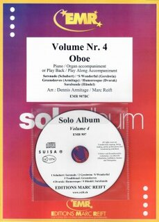 Solo Album Vol. 04 + CD  (Oboe)