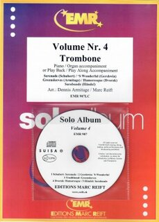 Solo Album Vol. 04 + CD  (Posaune)