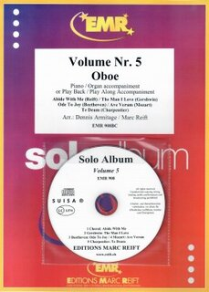 Solo Album Vol. 05 + CD  (Oboe)