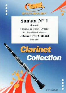 Sonata N° 1 in A minor (Klarinette)