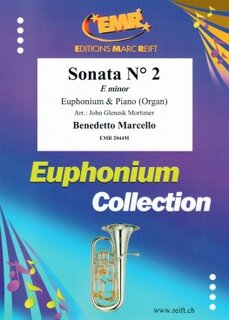 Sonata N° 2 in E minor (Eufonium)