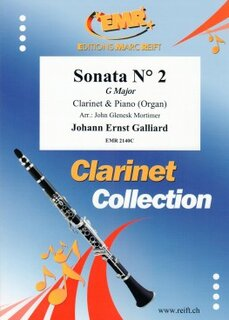 Sonata N° 2 in G major (Klarinette)