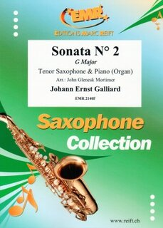 Sonata N° 2 in G major (Tenor Saxophone)