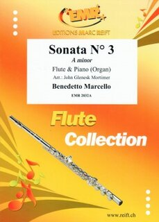 Sonata N° 3 in A minor (Flöte)