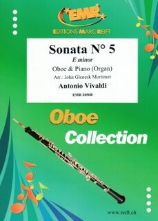 Sonata N° 5 in E minor (Oboe)
