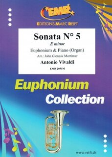 Sonata N° 5 in E minor (Eufonium)