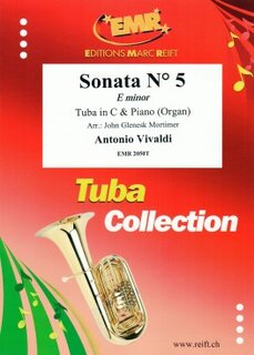 Sonata N° 5 in E minor (Tuba)