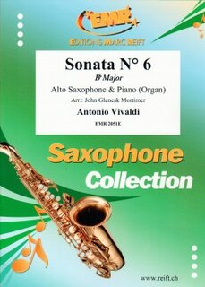 Sonata N° 6 in Bb major (Alto Saxophone)