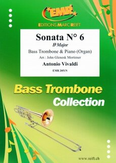 Sonata N° 6 in Bb major (Posaune)