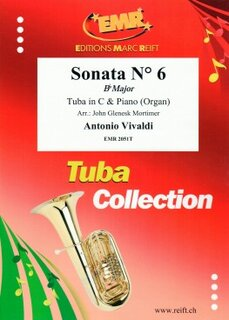 Sonata N° 6 in Bb major (Tuba)