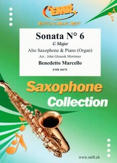 Sonata N° 6 in G major (Alto Saxophone)
