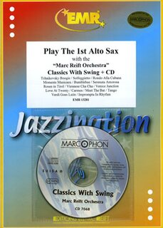 Play The 1st Alto Sax - Classic With Swing + CD