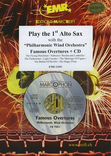 Play the 1st Alto Sax - Famous Overtures + CD