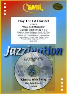 Play The 1st Clarinet - Classic With Swing + CD