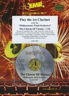 Play the 1st Clarinet - The Charm of Vienna+ CD