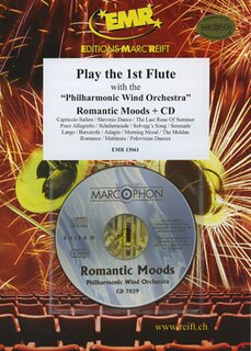 Play the 1st Flute - Romantic Moods + CD