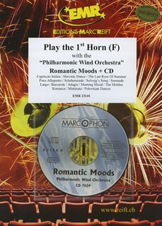 Play the 1st Horn - Romantic Moods + CD