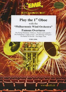 Play the 1st Oboe - Famous Overtures + CD