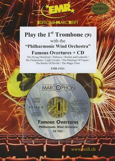 Play the 1st Trombone - Famous Overture + CD