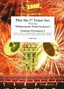 Play The 1st Tenor Sax With The Philharmonic Wind Orchestra