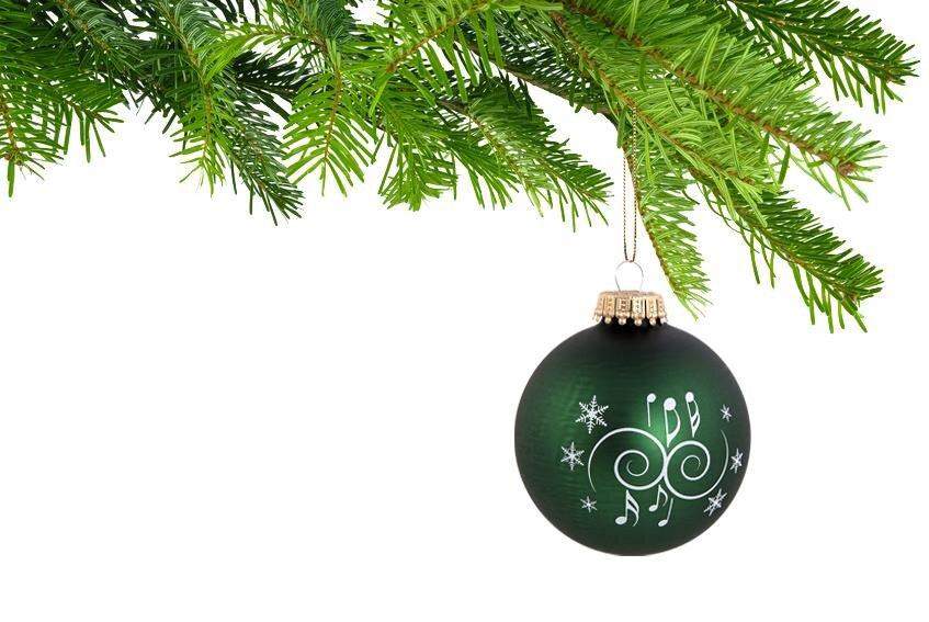 5er-Set Weihnachtskugeln Ornamente tannengrün | Wohnen & Haushalt - Deko