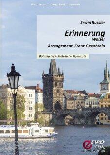 Erinnerung | Noten - Walzer | Erwin Russler | Arr. Franz Gerstbrein