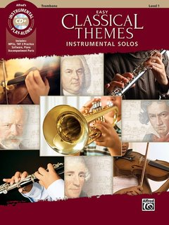 Easy Classical Themes - Instrumental Solos (Posaune)