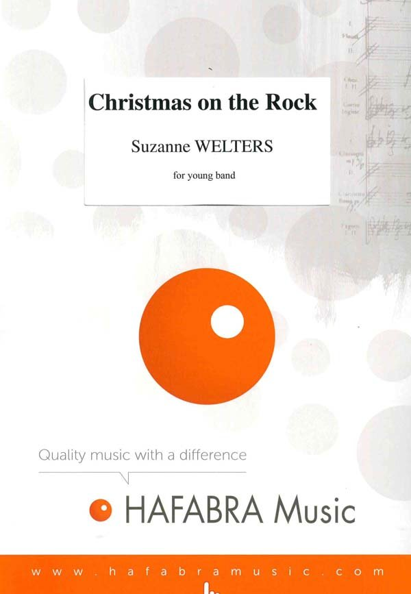 Christmas on the Rock | Noten - Jugendblasorchester | Suzanne Welters
